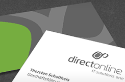 directonline Corporate Design